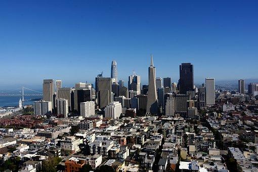 San Francisco, City, Architecture, California, Tourism