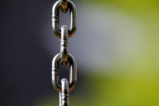 Chain, Links Of The Chain, Connection, Members, Iron