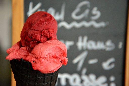 Chalkboard Background, Offer, Ice Cream, Ice Cream Cone