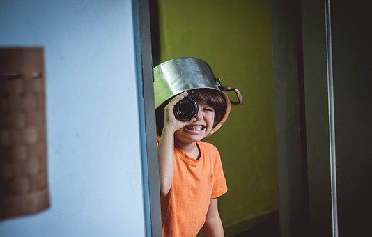 Child, Joke, Friends, Children, Childish, Freedom, Kite