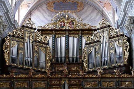 Organ, Church, Music, Cathedral, Church Organ