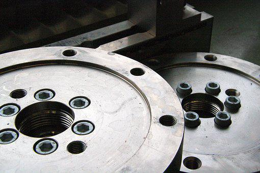 Workshop, Metal, Steel, Work, Cnc Machine, Machining