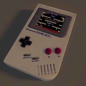 Game, Boy, Gameboy, Nintendo, Console, Technology
