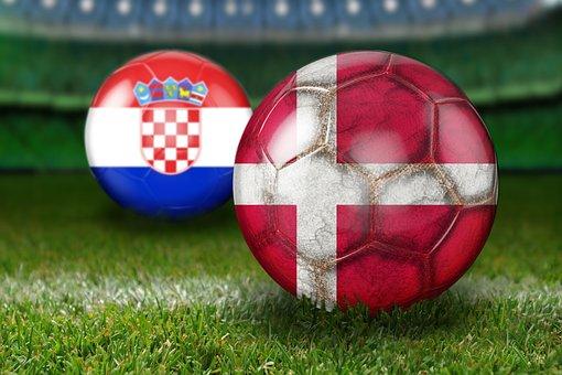 Round Of Last, World Cup 2018, Russia, Croatia, Denmark