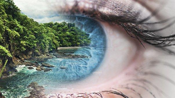 Sea, Eye, Water, Nature, Ocean, Beautiful, Blue