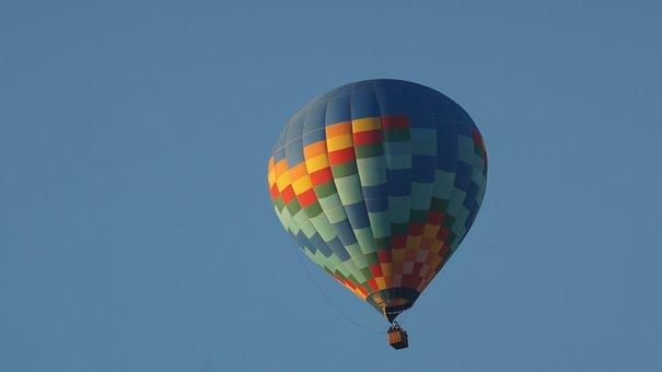 Balloon, Hot Air Ballooning, Flight