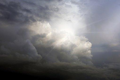 Cloud, Thunderstorm, Sky, Forward, Sunbeam, Nature