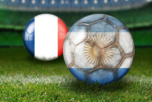 Round Of Last, World Cup 2018, Russia, France