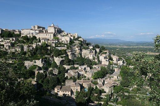 Village, France, Roussillon