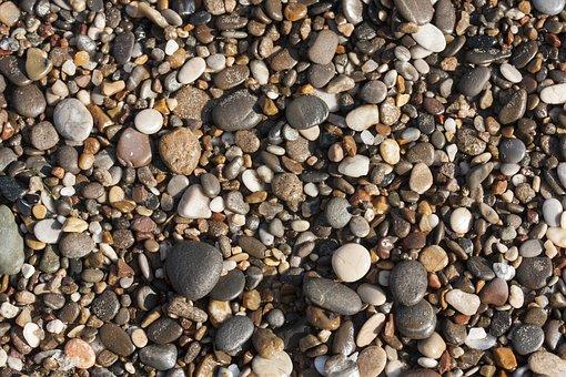 Stone, Beach, Gravel, Texture, Ground, The Stones Are