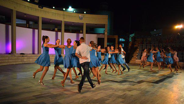 Dancers, Syrtaki, Greek Dance, Theater, Event, Motion