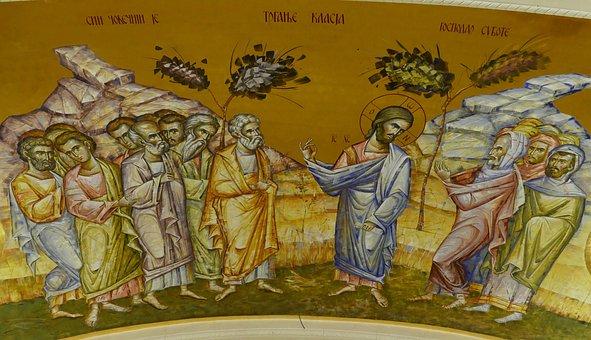 Church, Orthodox, Golden, Image, Icon, Christianity