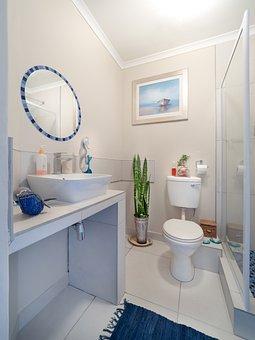 Bathroom, Interior, Home, Shower, Bath, Toilet, Sink