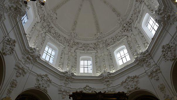 Architecture, Old, History, Dome, Ceiling, Magnificent