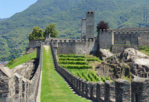 Bellinzano, Fortress, Wall Ring, Middle Ages