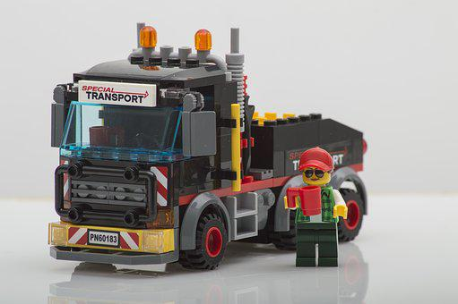 Lego, Truck, Toys, Play, Model, Studio, Product