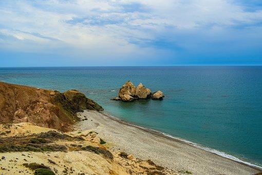 Pebble Beach, Rock, Nature, Sea, Coast, Landscape