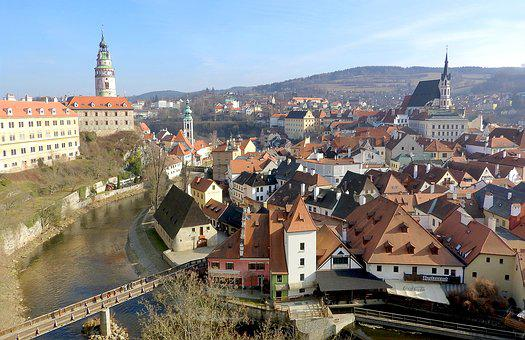 Czech Krumlov, The Historic City Of, Old Town, Castle