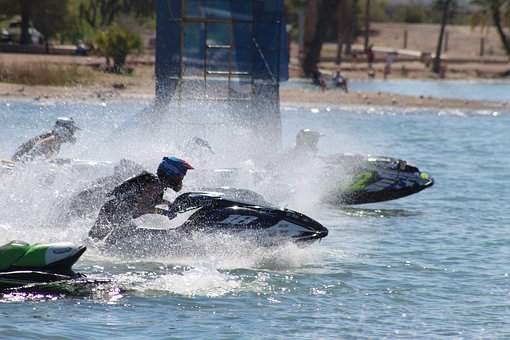 Race, Water, Competition, Jet Ski