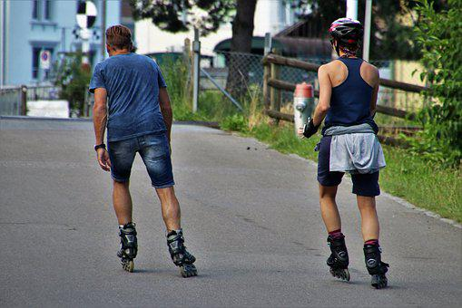 Roller Skates, Para, Total, Romance, Young, Street, She