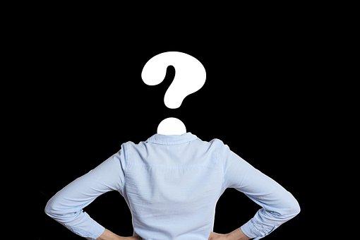 Question Mark, Question, Science, Board, School, Woman