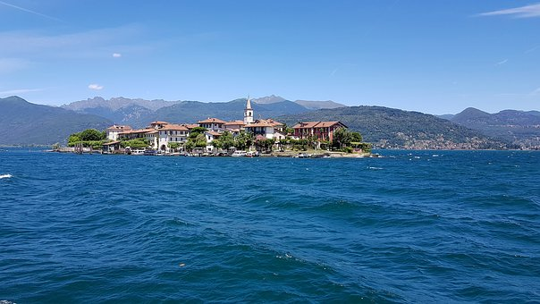Lago Maggiore, Stresa, Italy, Borromeo, Islands, Island