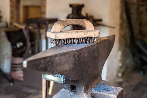 Anvil, Workshop, Blacksmith, Work, Iron, Tool, Forge
