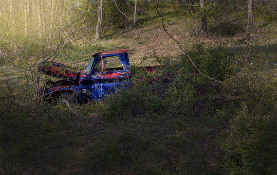 Old, Truck, Vintage, Rusted, Pickup, Automotive, Car