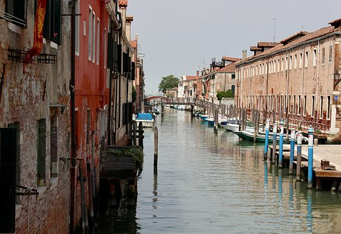 Venice, Waterway, Canal, Water, Italy, Boat, Travel