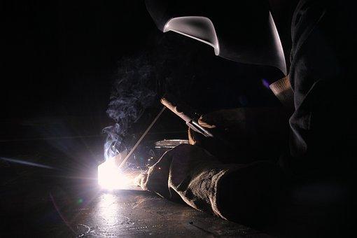 Welder, Weld, Workshop, Industry, Work, Employee, Metal