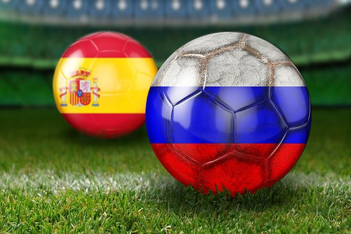 Round Of Last, World Cup 2018, Russia, Spain