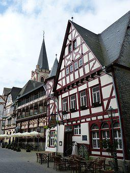 Bacharach, Middle Rhine, World Heritage, Historically