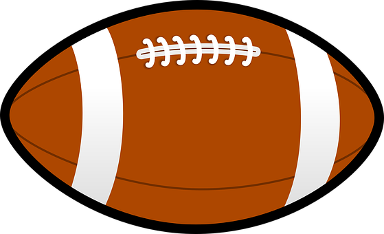 Football, Brown, Pigskin, Lace, Sport, Field, American