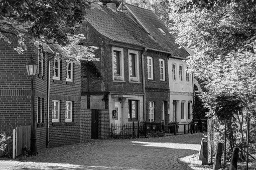 Road, Lüneburg, Old Town, Architecture, Building