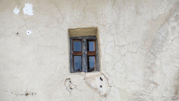 Window, House Facade, Old, Small, Architecture, Facade