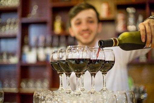 Bartender, Fougères, The Waiter, Bar, Wine, Pub, Drinks