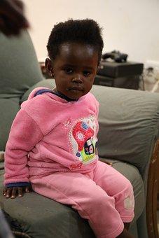 African Child, Girl, Cute, Baby, Female, Black