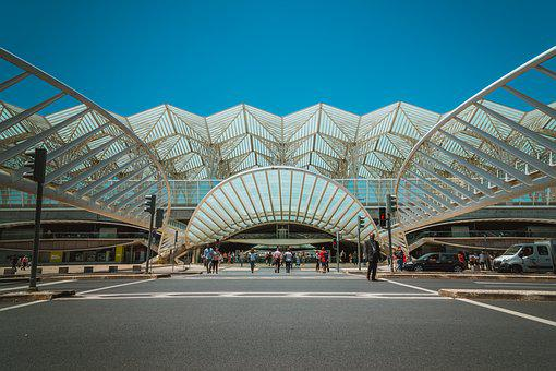 Architecture, Building, Railway Station, Urban