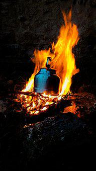 Camp, Camping, Travel, Ali, Campfire, Camp Fire, Tea