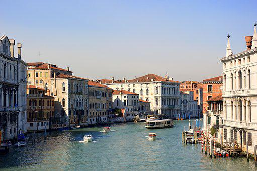 Travel, Venice, Channel, Canale Grande, Holiday, Italy