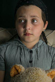 Eyes, Wonderment, Facial, Girl, Child, Portrait