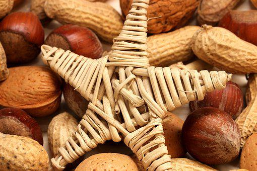 Nuts, Christmas, Advent, Decoration, Christmas Time