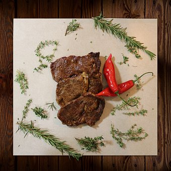 Meat, Steak, Grill, Food, Barbecue, Delicious, Beef