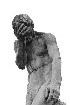 Face Palm, Statue, Figure, Sculpture