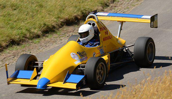 Motorcar, Single, Seater, Hillclimb, Speed, Motorsport