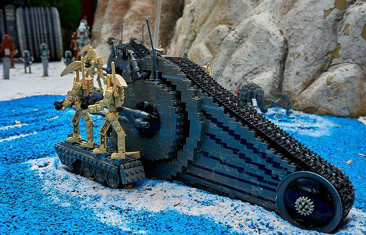 Legoland, Starwars, Kriegder Star, Lego Blocks