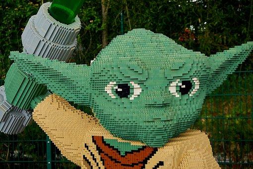 Legoland, Starwars, Yoda, Kriegder Star, Lego Blocks