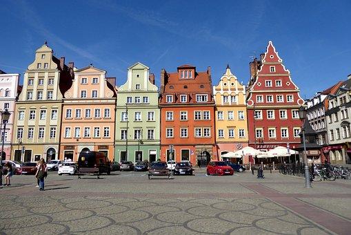 Wroclaw, Rynek, Large Ring, Marketplace