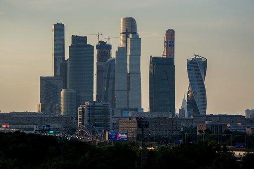 Moscow City, Luzhniki Stadium, Skyscraper, Russia