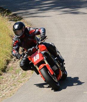 Motorbike, Hillclimb, Speed, Motorsport, Racing, Drive